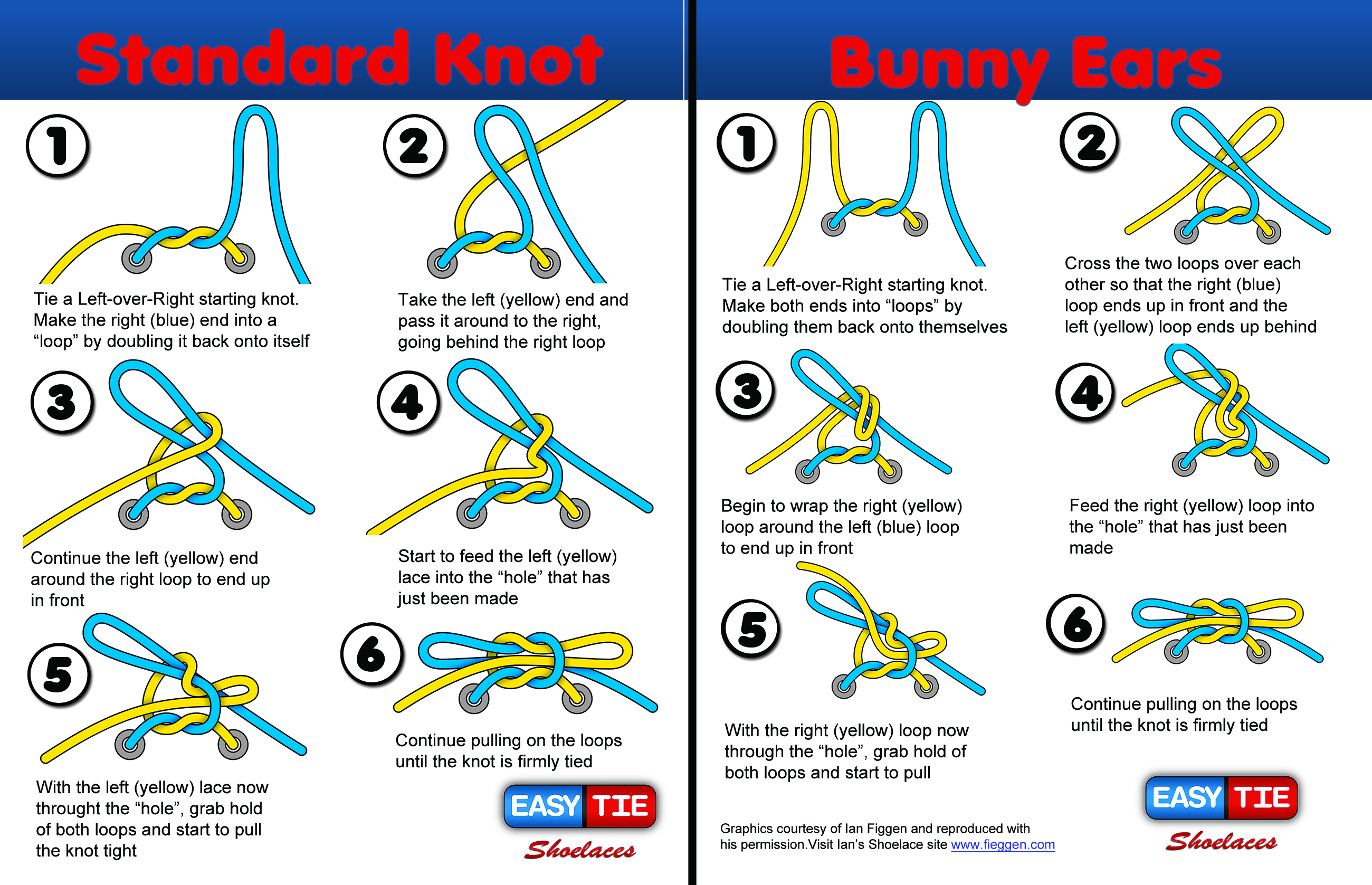 Free Downloads Easy Tie Shoelaces